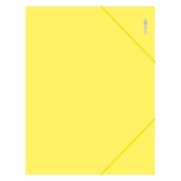 Zakladacia mapa s gumičkou PP/A4, žltá