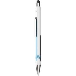 Guľôčkové pero SCHNEIDER Epsilon Touch, white-blue 0,7 mm  pre dotykové zariadenia