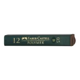 Grafitové tuhy FABER-CASTELL B / 0,5 mm, 12 ks