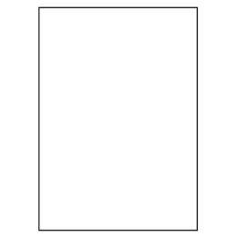 Etikety PRINT A4/100 ks, 210x297 - 1 etiketa, biele