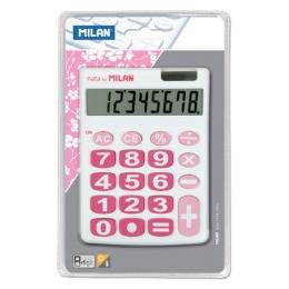 Kalkulačka MILAN 8-miestna 151708 biela