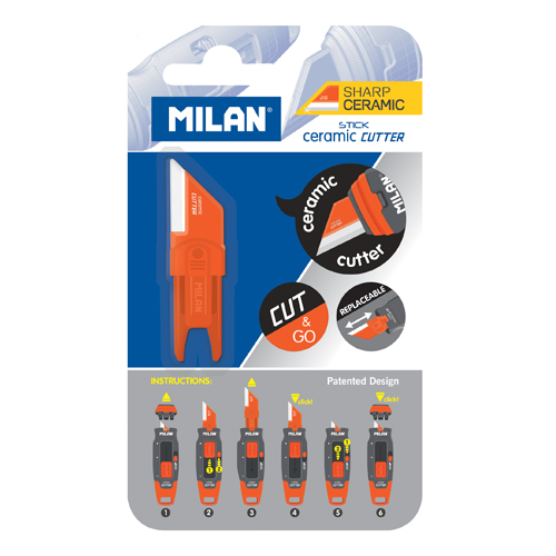 Náhradná čepeľ MILAN Stick keramická pre orezávací nôž