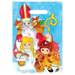 Taška PE s výsekom 25x35 cm, Vianočný motív