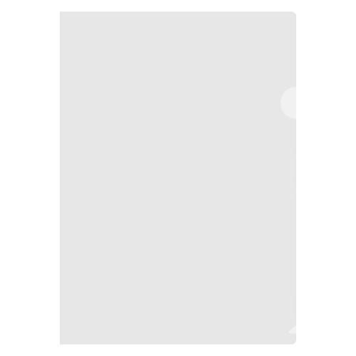 Obal zakladací A4/L, transparentý 180 mic/10 ks