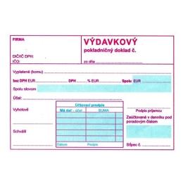 Výdavkový pokl. doklad s DPH A6 (172)