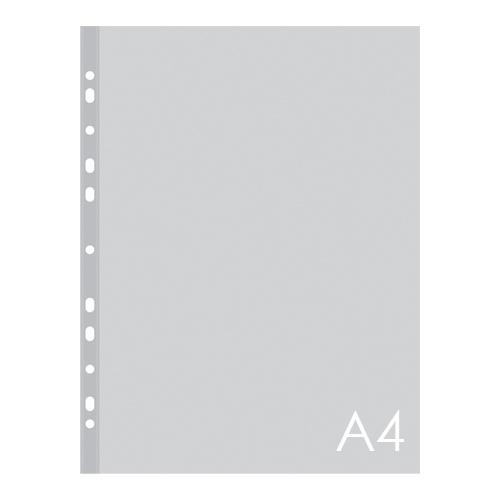 Euroobal A4 80 µm transparentný, lesklý 100 ks