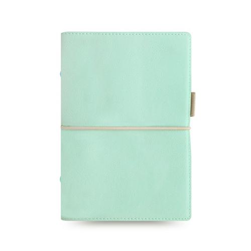 Diár Filofax Domino Soft - pastelovo zelený, osobný