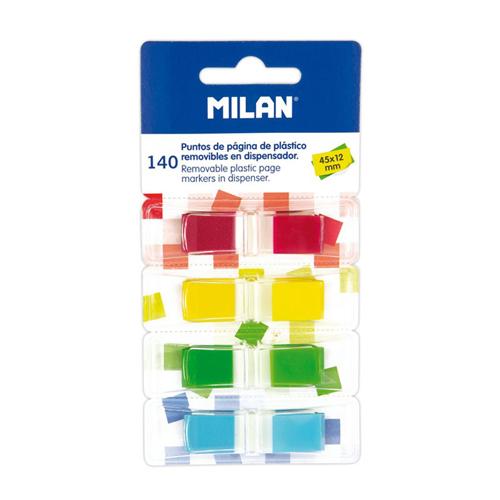 Blok lep MILAN záložka PVC 45 x 12 mm 140 ks