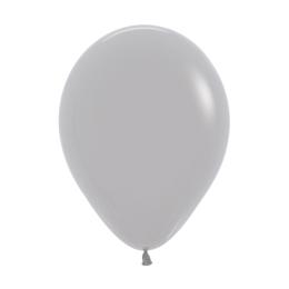 Balón Solid 28 cm, šedý /100ks/
