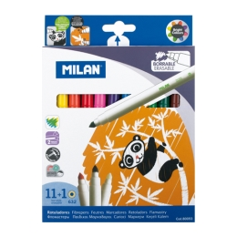 Fixy MILAN - sada 11 ks+1 ks zmizík