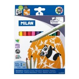 Fixy MILAN - sada 11 ks + zmizík