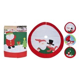 Sukňa pod vianočný stromček - rôzne druhy priemer 100 cm, mix/1ks