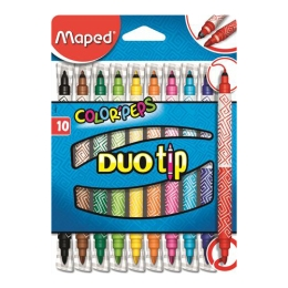 "Fixy MAPED ""COLOR`PEPS DUO TIP"", 10 ks"