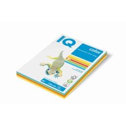 Kopírovací papier A4 IQ 80g color 5x50 mix intenzívne farby