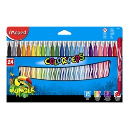 "Fixy MAPED ""COLOR`PEPS JUNGLE"", 24 ks"