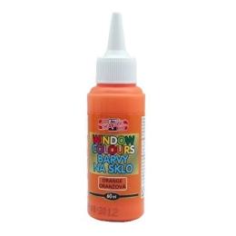 Farba na sklo KOH-I-NOOR 60 ml, oranžová