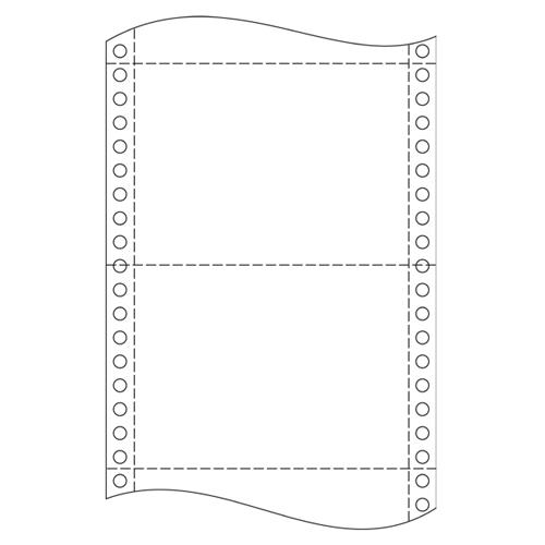 """Tabelačný papier 25 x 12""""/ 06 (1+1) NCR BP"""