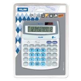 Kalkulačka MILAN stolová 12-miestna 152512 sivá