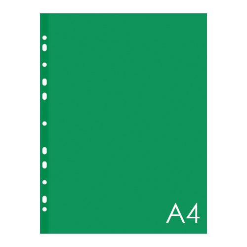 Euroobal A4 40 µm farebný - zelený, lesklý 100 ks