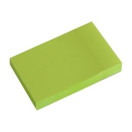 Blok lep. NEON 50 x 76 mm zelený