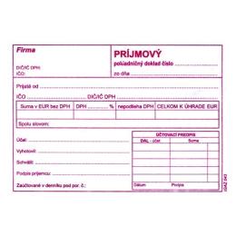 Príjmový pokladničný doklad s DPH A6 (43)