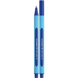 """Guľôčkové pero, 0,5 mm, s uzáverom, Schneider """"Slider Edge M"""", modré"""