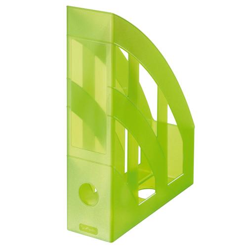 Stojan na časopisy - Classic zelený - transparent.