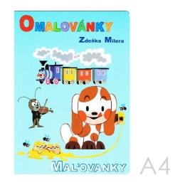 Omaľovánka A4 Akim - Z. Milera
