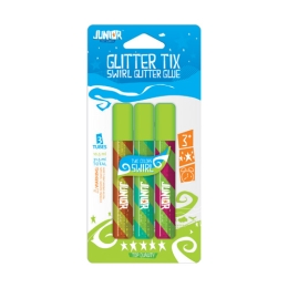 Lepidlo Glitter mix farieb, sada 3 ks