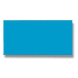 Listov.karta CF - 106x213 mm, modrá 210g (25 ks)
