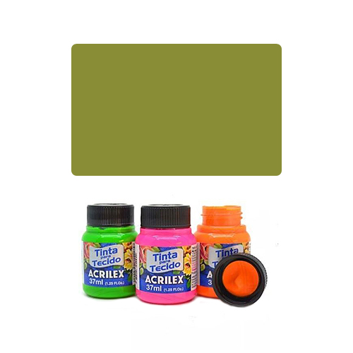 ACR Farba na textil 37ml, Pistachio Green 570