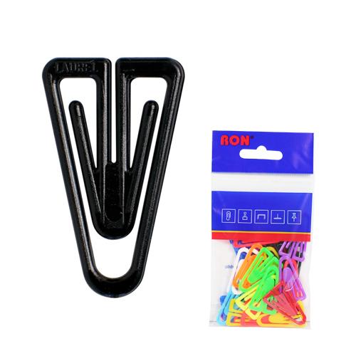 Listové spony plastové 623, tvar V, 35 mm (10ks)