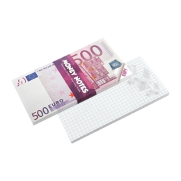 Blok trhací - Money Notes 500 €