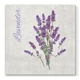 Obrúsky PAW L 33x33cm Lavender for You