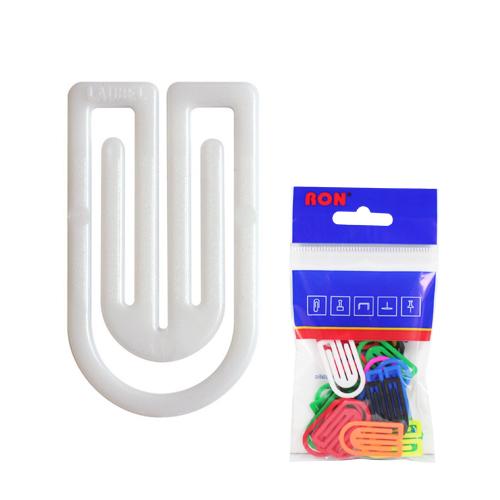 Listové spony plastové 632, oblá, 32 mm (10ks)