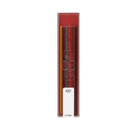 Grafitové tuhy KOH-I-NOOR 6 ks, farebné/technické