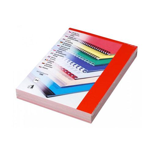 Kartónové dosky CHROMOLUX A4 červené