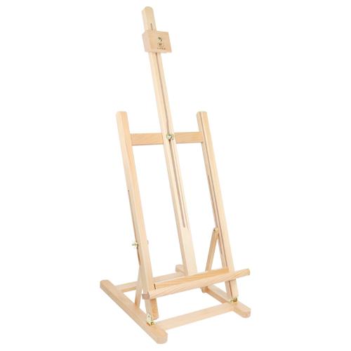 Stojan maliarsky 27x72 cm - drevený, malý