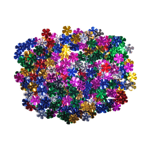 Dekorácia kvety mix farieb 13 mm/14 g