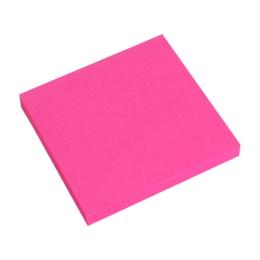 Blok lep. NEON 76 x 76 mm  ružový