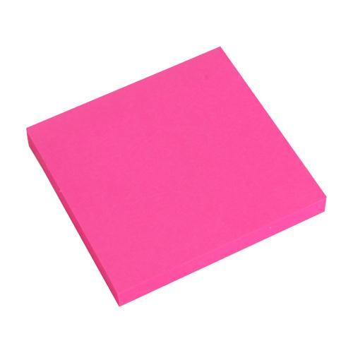 Blok lep. NEON 76 x 76 mm - ružový