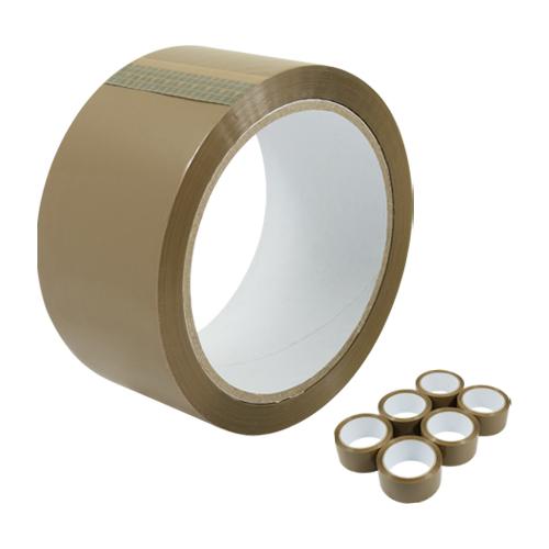 Lepiaca páska 48 mm x 60 m - hnedá 38mic
