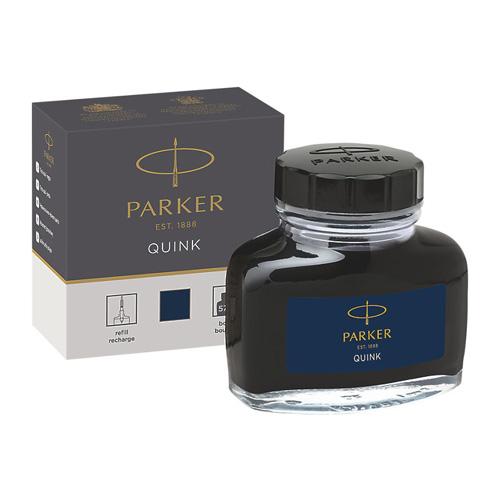 Fľaštičkový atrament Parker - modro-čierny