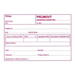Príjmový pokl.doklad pre podvoj. účt. A6 (894)