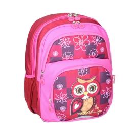 Školský batoh ergonomický, Owl Red