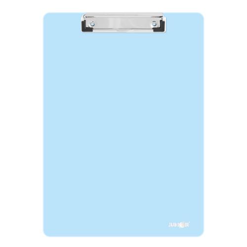 Podložka na písanie s klipom PP/A4, pastelovo modrá
