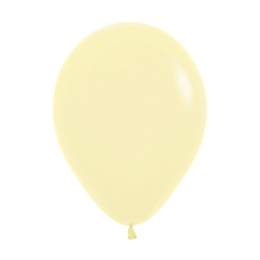 Balóny Pastel 28 cm, krémový /100ks/
