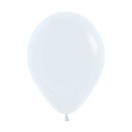 Balón Solid 28 cm, biely /100ks/