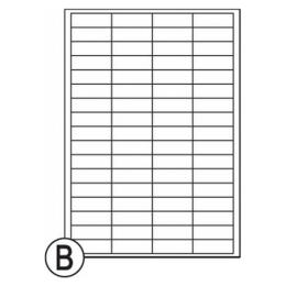 Etikety Soto label 48,5 x 16,9 mm (1068)
