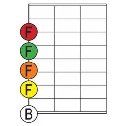 Etikety Soto label 70 x 36 mm, far. fl. (1124)